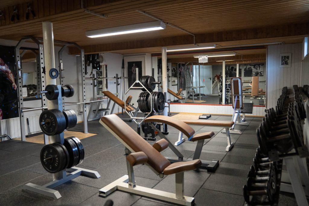 Freihanteltraining Casa Vita Fitness